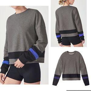 Demi for Fabletics Odessa Sweater Gray sz XS